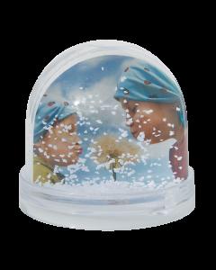 Magische fotobol (sneeuw)